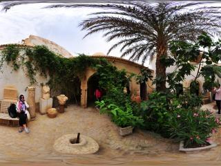 突尼斯—托泽尔(Tozeur)老城全景
