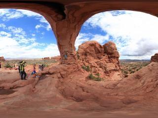 美国拱门国家公园虚拟旅游
