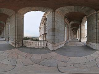 西班牙—马德里皇宫全景