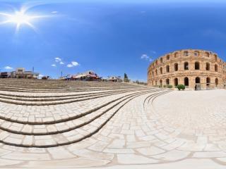 突尼斯—埃尔杰姆斗兽场全景