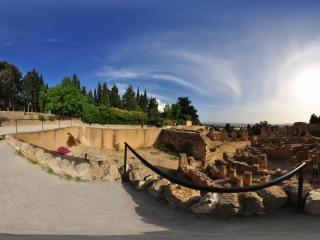突尼斯—迦太基古城遗址全景