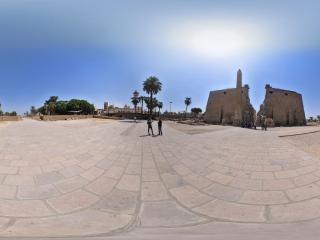 卢克索-卡尔奈克神庙群虚拟旅游