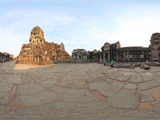 柬埔寨小吴哥全景