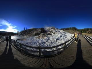 美国黄石国家公园全景