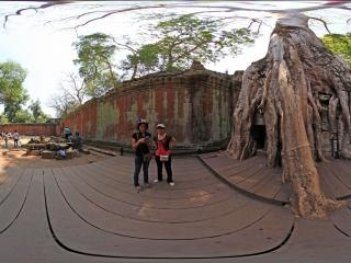 柬埔寨崩密列全景