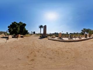 孟菲斯-拉米西斯神像虚拟旅游