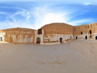 突尼斯—穴居人房屋