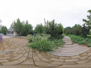 北京—朝阳中赫国安庆丰体育中心公园全景