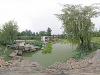 北京—朝阳中赫国安体育中心庆丰公园全景