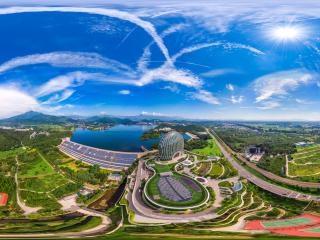 北京—怀柔雁栖湖国际会展中心全景