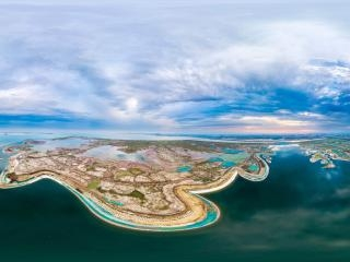 天津—塘沽国家海洋博物馆全景