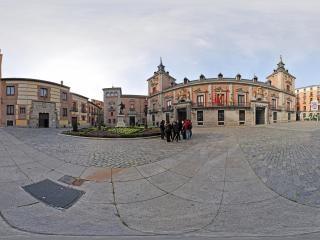 西班牙-马德里市政广场虚拟旅游