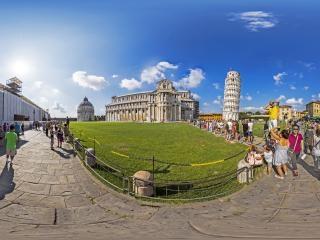 比萨斜塔虚拟旅游