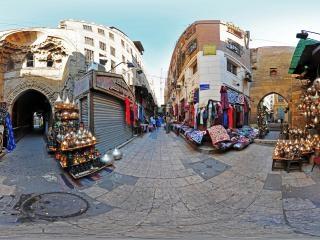 埃及-开罗-汗哈利里市场虚拟旅游