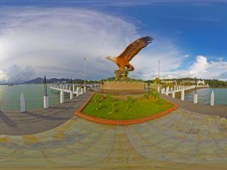 兰卡威-巨鹰广场1全景