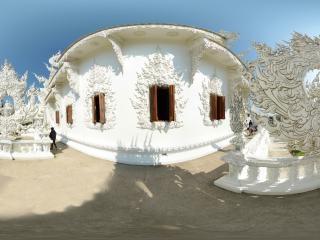 清莱白庙(一)全景