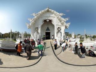 清莱白庙(二)全景