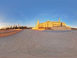 西班牙-巴塞罗那奥林匹克体育场虚拟旅游