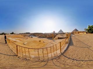 埃及-开罗-吉萨狮身人面像虚拟旅游