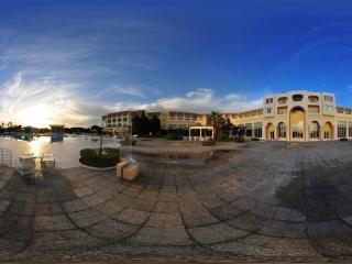 突尼斯拉曼达酒店广场全景