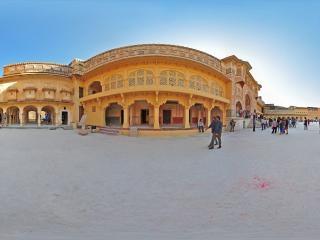 乌代普尔皇宫(一)全景