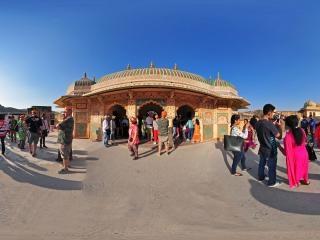 乌代普尔皇宫(四)全景