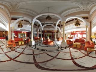 突尼斯拉曼达酒店大堂全景