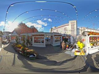 红场美食街虚拟旅游
