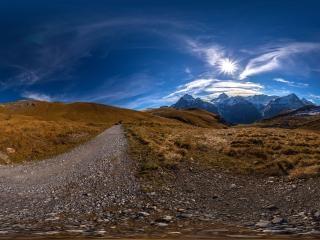弗斯特山2全景