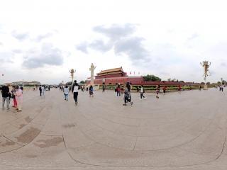 北京—国庆节前的天安门广场