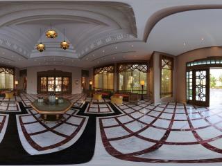 突尼斯-拉曼达酒店洽谈区全景