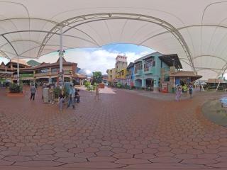 兰卡威-东方村3全景