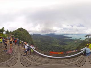 兰卡威-天空之桥全景