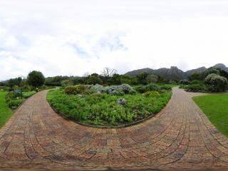 克斯藤布斯植物园(一)全景