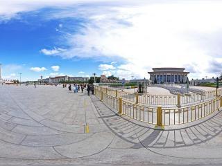 毛主席纪念堂全景
