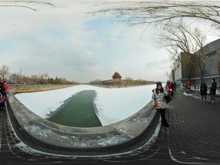 北京—故宫博物院雪景(四)全景