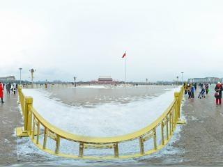 北京—天安门广场雪景(二)全景