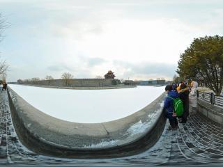 北京—故宫博物院雪景(二)全景