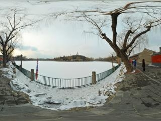 北京—北海公园雪景(二)全景