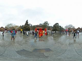 北京—景山公园雪景(一)全景