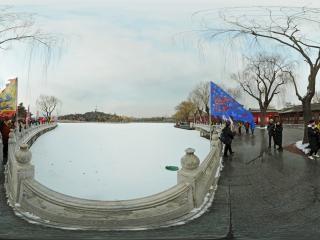 北京—北海公园雪景(四)全景