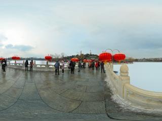 北京—北海公园雪景(三)全景