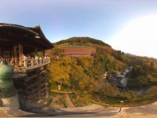 日本-京都清水寺全景