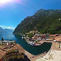 意大利-加尔达湖全景