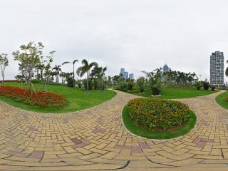 前海石公园全景