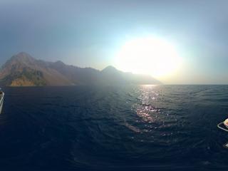 美国-俄勒冈州火山口湖公园全景