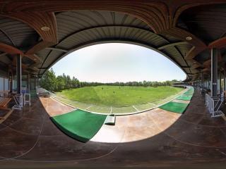 北京—海淀门头新村高尔夫球场全景