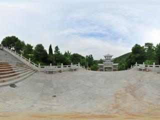 褒禅寺入口全景