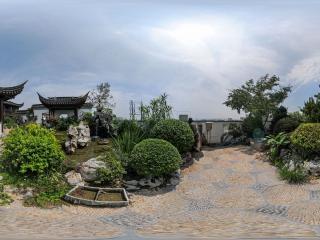 苏州园林小景全景