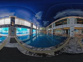 康体游泳馆全景